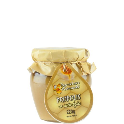Miód z propolisem 220 g