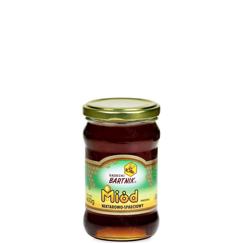"""Zdjęcie produktu Miód nektarowo-spadziowy """"Sądecki Bartnik"""" 400 g"""