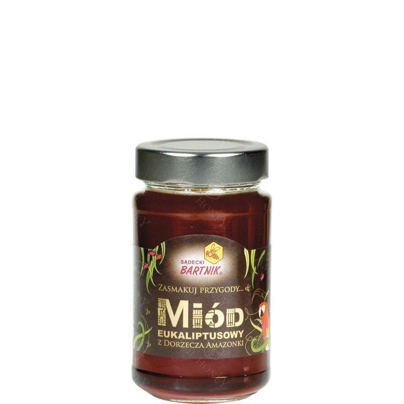 """Zdjęcie produktu Miód eukaliptusowy """"Sądecki Bartnik"""" 300 g"""