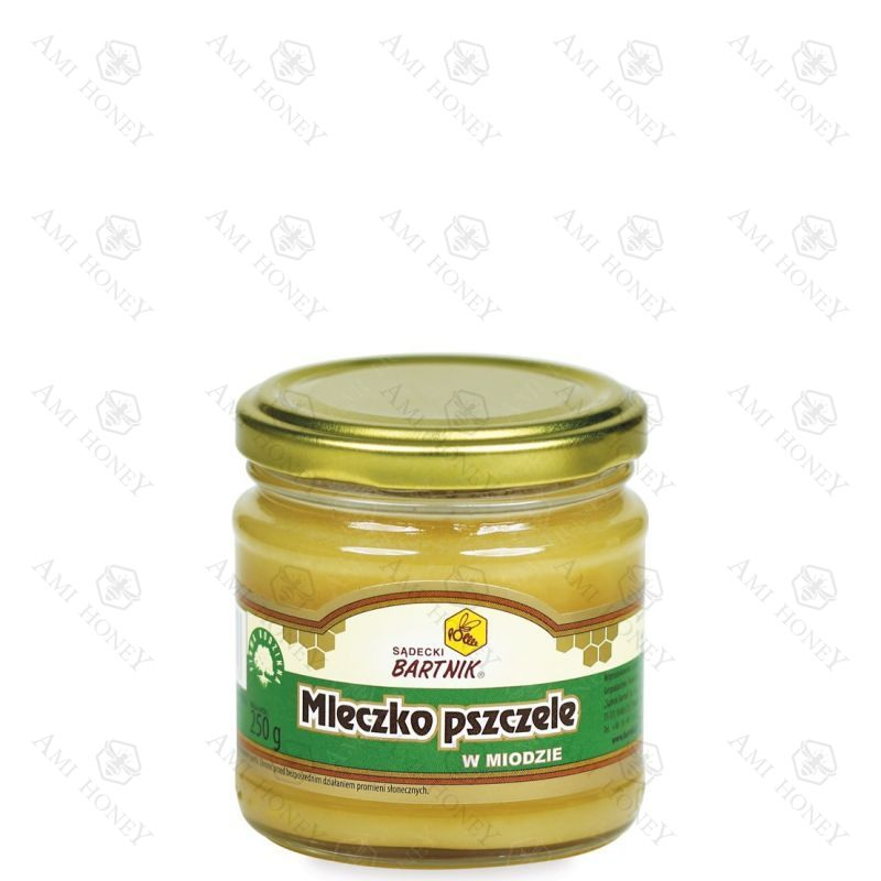 Zdjęcie produktu Mleczko pszczele w miodzie 250 g