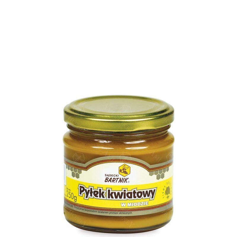 Zdjęcie produktu Pyłek kwiatowy w miodzie 250 g