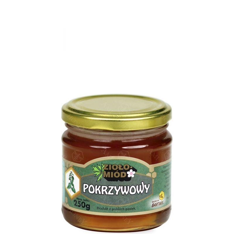 Zdjęcie produktu Ziołomiód pokrzywowy 250 g