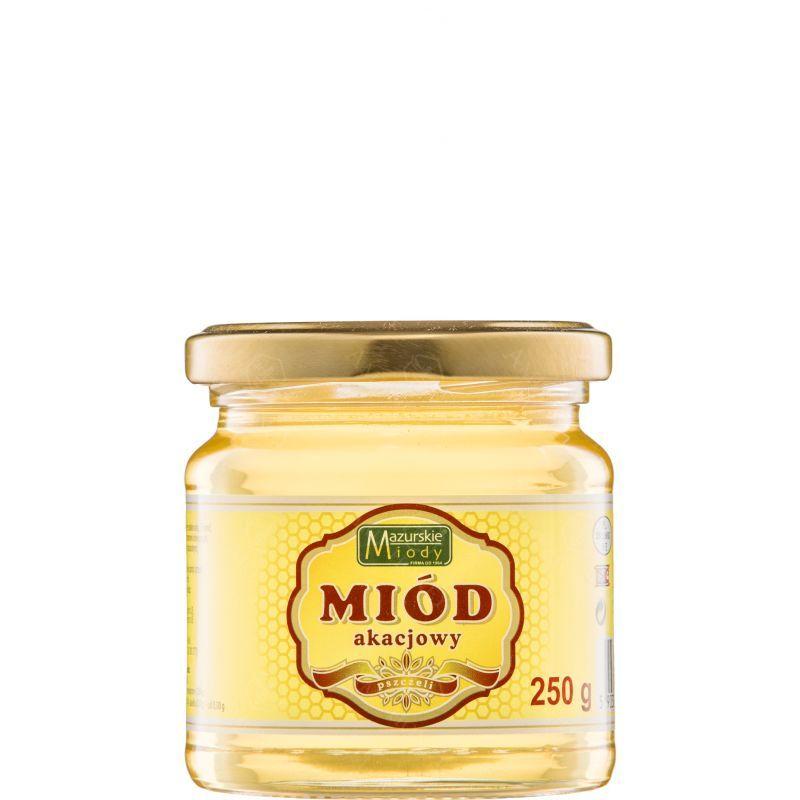 """Zdjęcie produktu Miód akacjowy """"Mazurskie Miody"""" 250 g"""