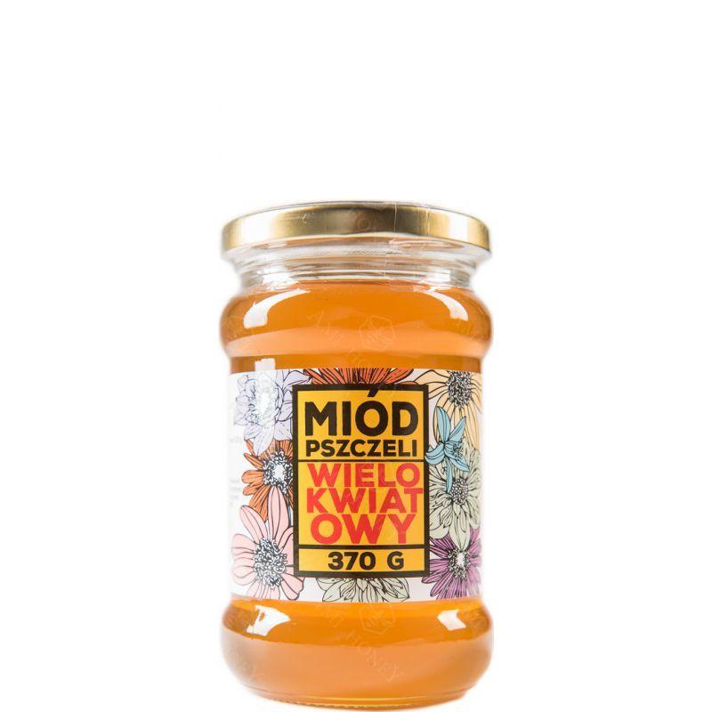 """Zdjęcie produktu Miód wielokwiatowy """"Mazurskie Miody"""" 370 g"""