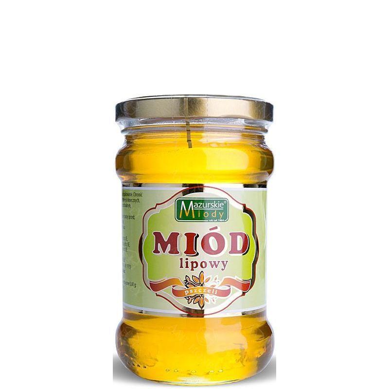 """Zdjęcie produktu Miód lipowy """"Mazurskie Miody"""" 400 g"""