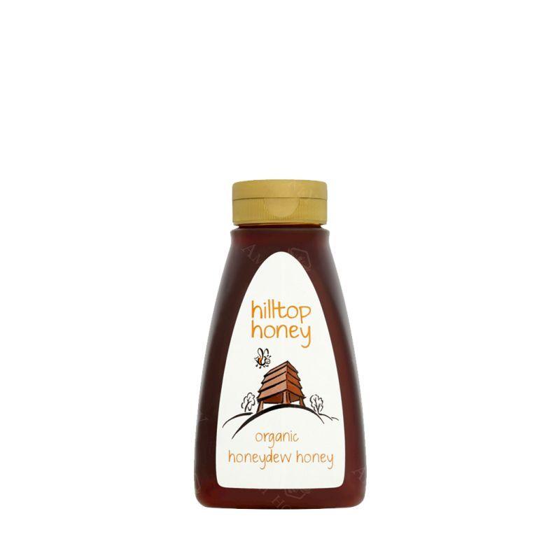 """Zdjęcie produktu Organiczny miód spadziowy """"Hilltop Honey"""" 370 g"""