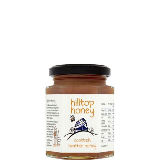 """Zdjęcie produktu Szkocki miód wrzosowy """"Hilltop Honey"""" 227 g"""