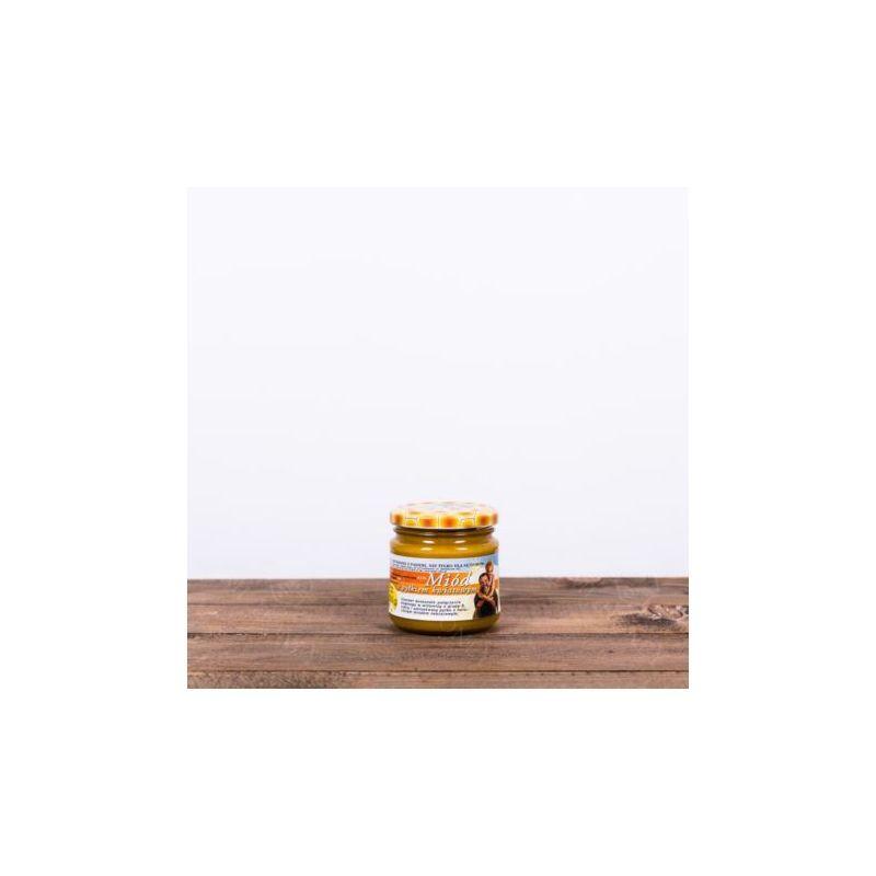 Zdjęcie produktu Miód z pyłkiem kwiatowym 250 g