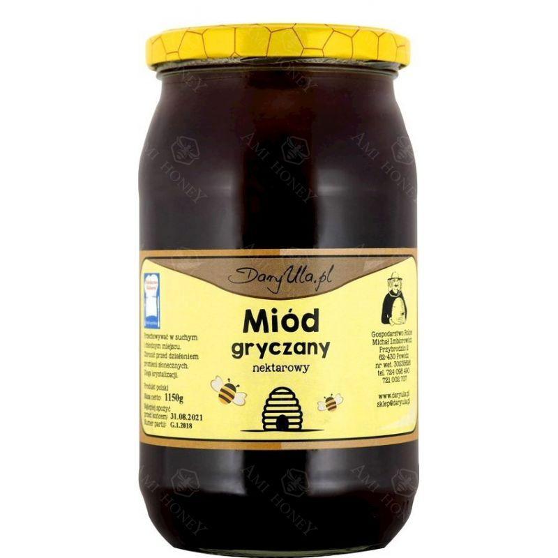 """Zdjęcie produktu Miód gryczany """"Dary Ula"""" 1150 g"""