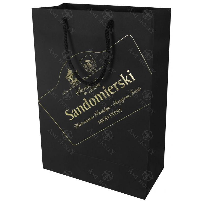 """Zdjęcie produktu Torba """"Sandomierski"""" Prestige ze złotym tłoczeniem"""