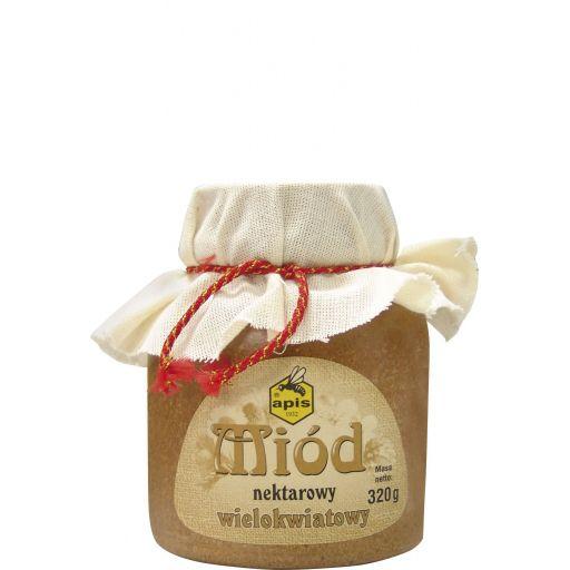 Zdjęcie produktu Miód nektarowy wielokwiatowy w kamionce od Apisu 320 g
