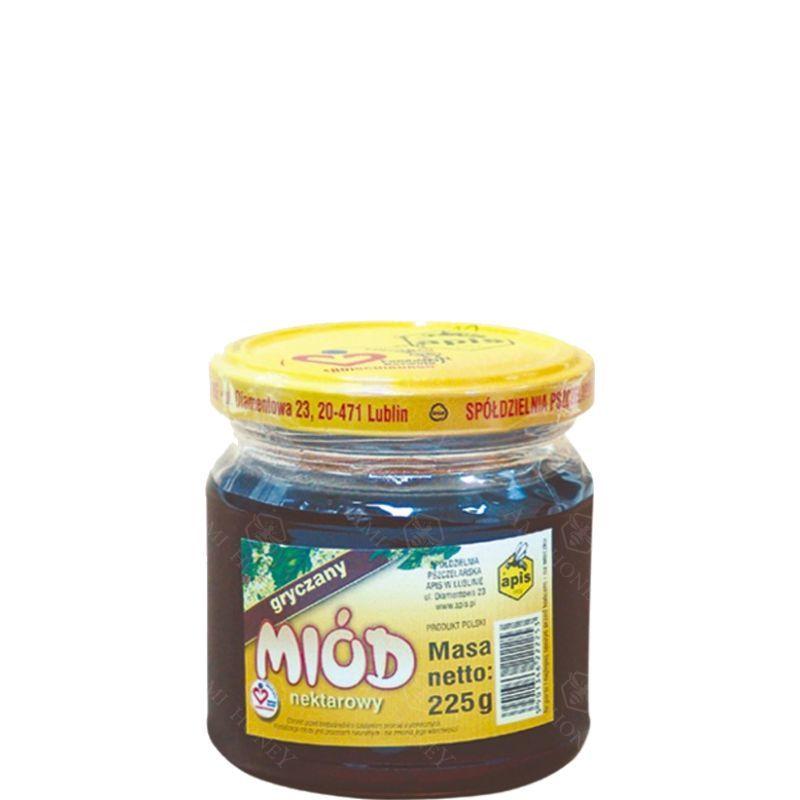 Zdjęcie produktu Miód nektarowy gryczany od Apisu 225 g
