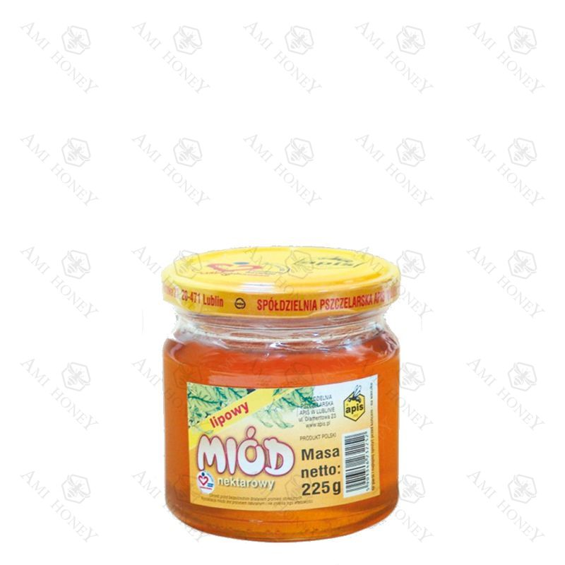 Zdjęcie produktu Miód nektarowy lipowy od Apisu 225 g