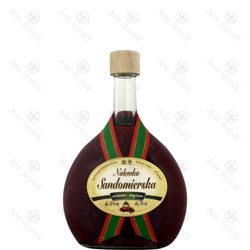 Zdjęcie produktu Nalewka Sandomierska wiśniowo-anyżowa 750 ml