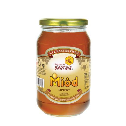 Miód lipowy 1200 g